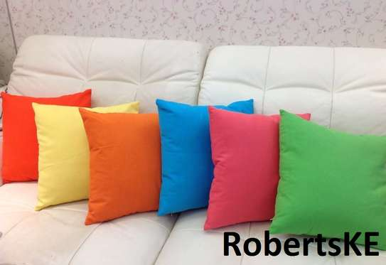 different colored throw pillows image 1