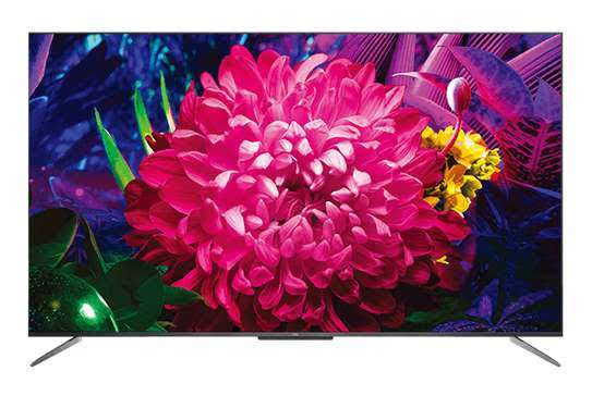New TCL 50 inches IPQ-TV 50P615 Android UHD-4K Smart Digital TVs image 1
