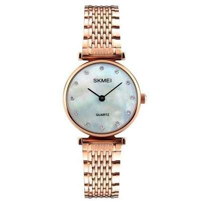 Skmei Fashion Ladies Watch Casual Dress 1223 - Gold