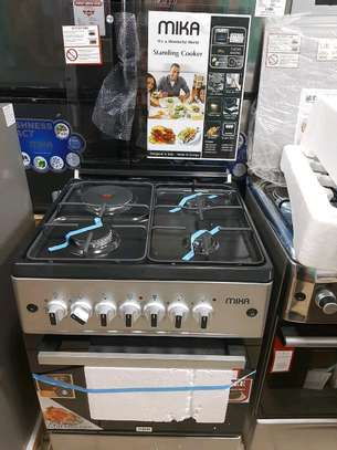 Mika Cooker 60*60,  3Gas 1 Electric with Electric oven