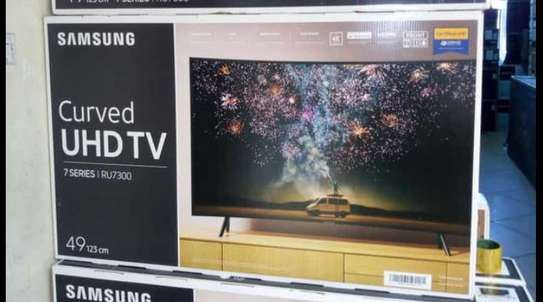 49 inches Samsung smart curved tv image 1