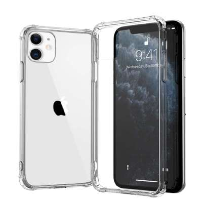 Clear TPU Case iPhone 12 Pro Max 2020 12 Pro Airbag Shockproof Back Cover iPhone 12 MINI Angles Protective Phone Case image 2