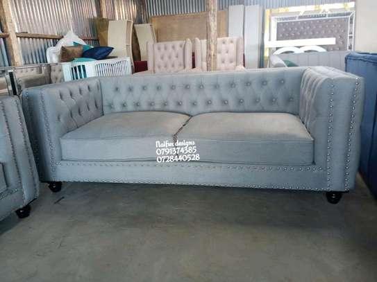Three seater sofas/chester sofas image 1