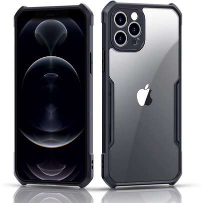 XUNDD SLIM CLEAR BACK CASE FOR IPHONE 12, 12 PRO, 12 PRO MAX image 1