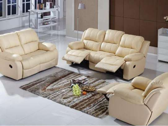 Artificial Leather Sofa image 1