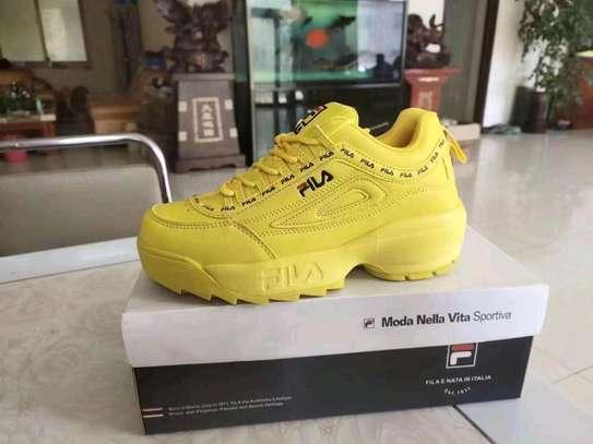 Ladies fila sneakers image 5
