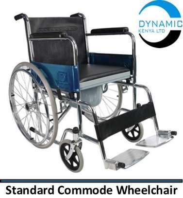 Standard Commode Wheelchair