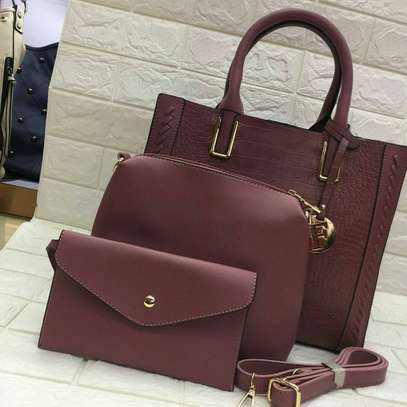 3 in 1 Leather Handbags image 1