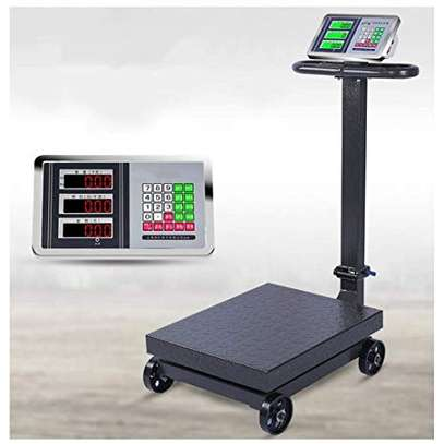 folded 500kg electronic weighing scale weighing image 1