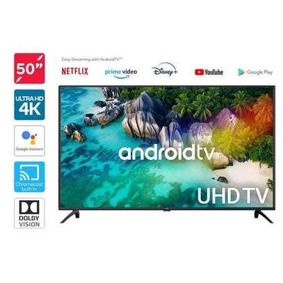"Vitron 50"" FRAMELESS 4K UHD Android TV 1.5GB RAM, 8GB ROM - Model 5068US image 1"