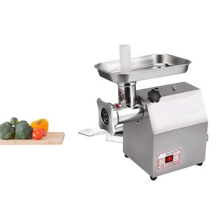 Food Machinery TK 12 Commercial Stainless Steel Meat Grinder image 1