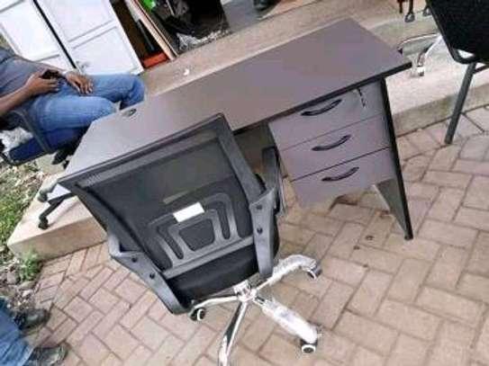 Desk plus a chair image 1