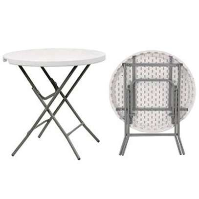 Foldable Round Tables image 1