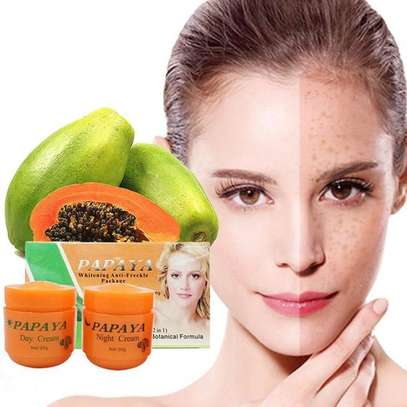 PAPAYA Whitening   Natural botanical formula skin care whitening cream. image 4