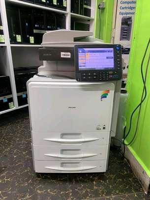 Ricoh aficio mpc300  photocopier machine image 1