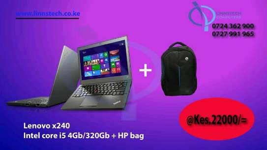 Business  laptop  user friendly 14 inches lenovo x240 intel core I5 image 1