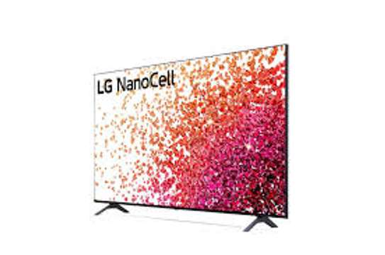 LG 65 inches Nanocell 65NANO80 UHD-4K SMART FRAMELESS DIGITAL TVS image 1