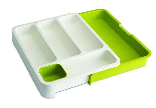 Plastic Expandable Cutlery Tray Drawer Storage Organizer image 4