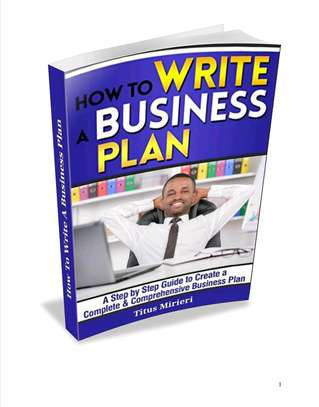 How to write a business plan image 1