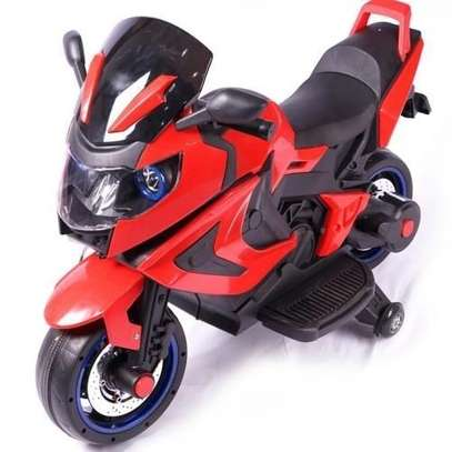 Rechargeable battery bike for kids motor bike electric kids motorcycles with RC-03-RED with lights all round
