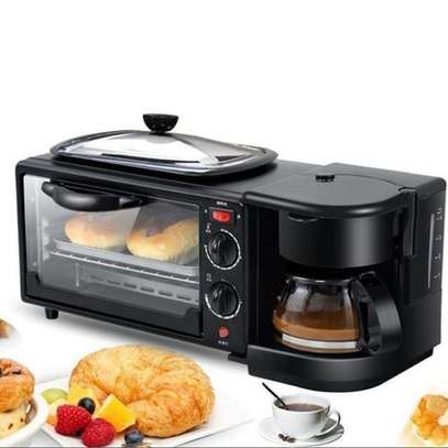 3 In 1 Multi Function Breakfast Maker Machine With Grill image 2
