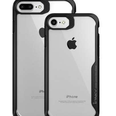 IPAKY Hybrid Shockproof Transparent Case for iPhone  6+ 6S Plus image 1