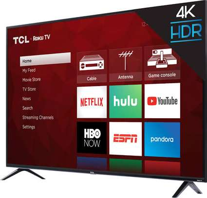 TCL 50 inch digital smart android 4k TV image 1
