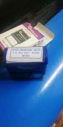 COMPANY SEALS Rubber stamps, plaques and all types of laser engraving image 4