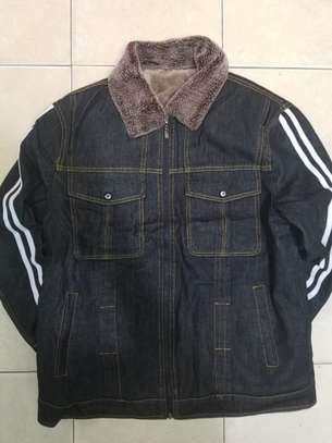 Denim woolen jackets image 1