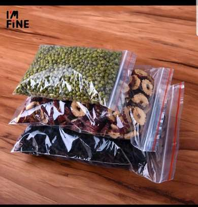 ziplock bags (Available in various sizes) image 1