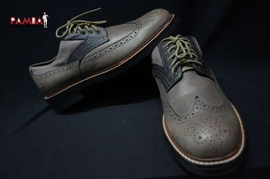 Grey Oxford Shoes image 1