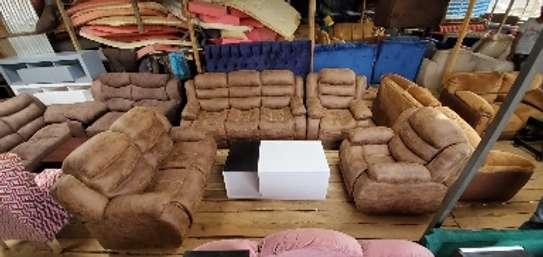 Seven Seater Recliner Sofa image 1