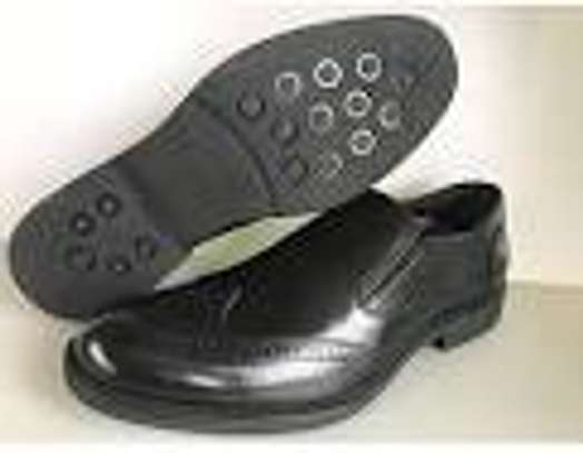 Black Quality And Genuine Leather Urban Official Men Shoes image 1