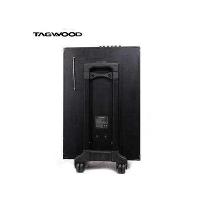 TAGWOOD 10A Outdoor Speaker, Bluetooth Microphone, Battery image 2