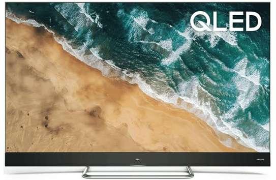 TCL 55 inch Onkyo 55C815 Q-LED Android UHD-4K Smart Digital TVs image 1