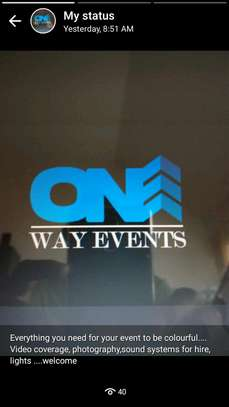 One way events