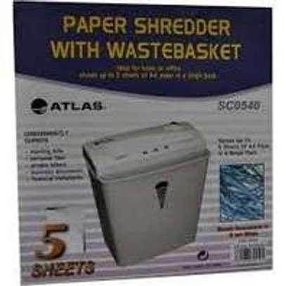 Atlas paper shredder SC0540 5-sheets image 1