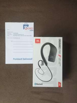 JBL Endurance SPRINT - Waterproof Wireless In-Ear Sport Headphones - Black image 1