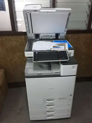 RICOH MPC3503 MOST REASONABLE HIGH SPEED FULL COLOR PHOTOCOPIER/PRINTER/SCANNER WITH FREE EXTRA TONER SET image 6