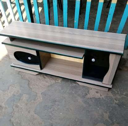 American wood tv stand image 1