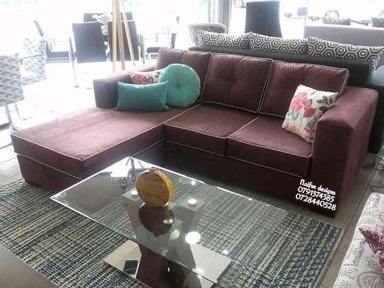 Four seater sofa/L shaped sofas image 1