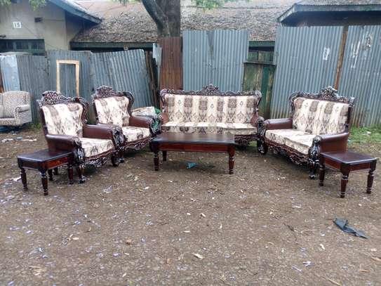 7seater antique sofa image 1
