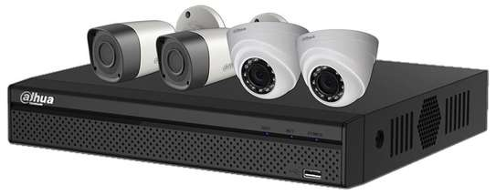 4 Channel CCTVs set image 2