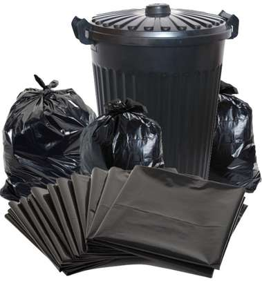 trash bags for sale, big size, bin liners, dustbin papers image 1