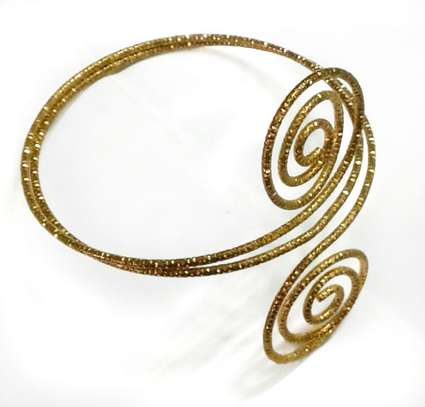 Golden swirls Armlet image 1