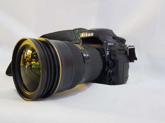Nikon's D810 DSLR and N series nanocoat 24mm-70mm with hood