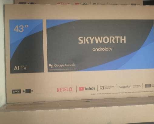 Skyworth 43 smart android tv frameless image 1