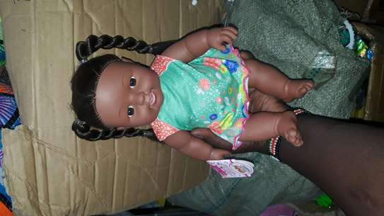 Africa kids doll/baby doll/baby/artificial baby image 7