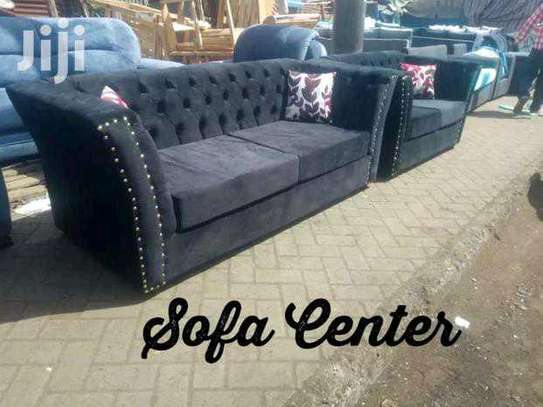 Elegant Classic Quality 5 Seater Chesterfield Sofa image 1