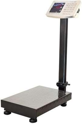 electronic weighing platform scale ( Capacity 30kg, 60kg,75kg, 150kg, 300kg, 500kg , etc.) image 1